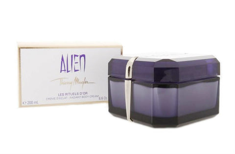 ALIEN for Women by Thierry Mugler Les Rituels D'Or Radiant Body Cream 6.6 oz - Cosmic-Perfume