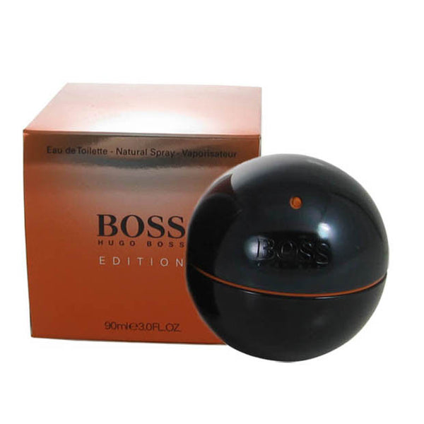 Boss in Motion Black for Men by Hugo Boss EDT Spray 3.0 oz *Damaged Box - Discount Fragrance at Cosmic-Perfume