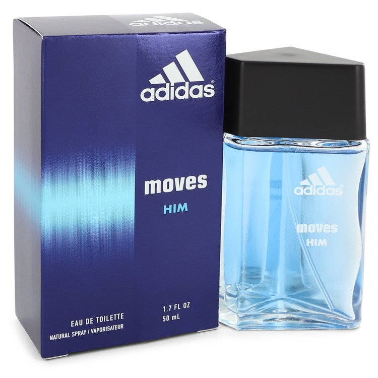 Adidas Moves for Men EDT Spray 1.7 oz