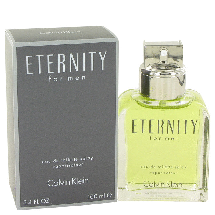 Eternity for Men by Calvin Klein EDT Spray 3.4 oz