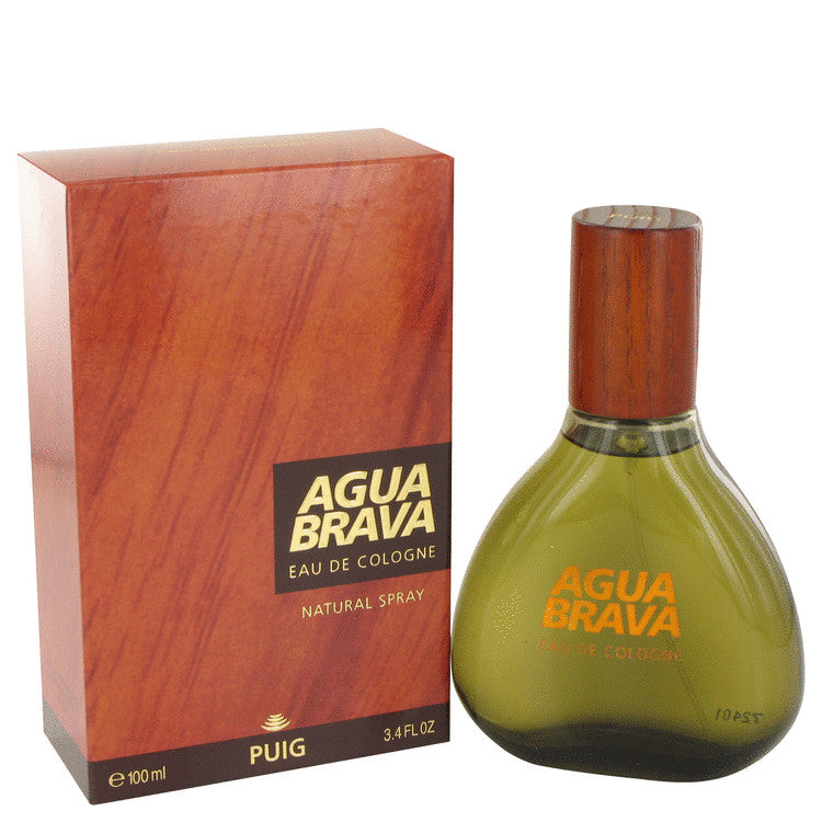 Agua Brava for Men by Puig Eau de Cologne Spray 3.4 oz