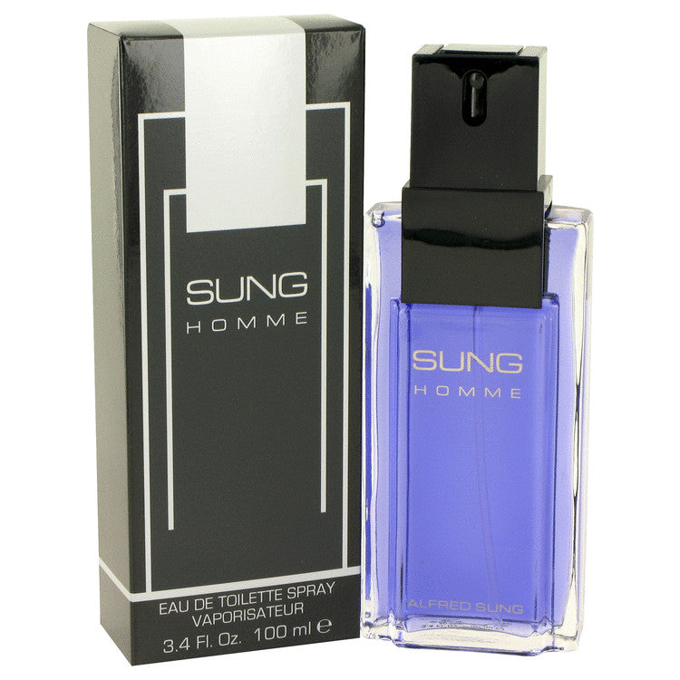 Sung Homme for Men by Alfred Sung EDT Spray 3.4 oz