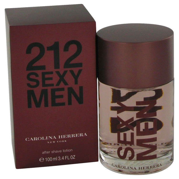 212 Sexy for Men by Carolina Herrera After Shave Splash 3.3 oz