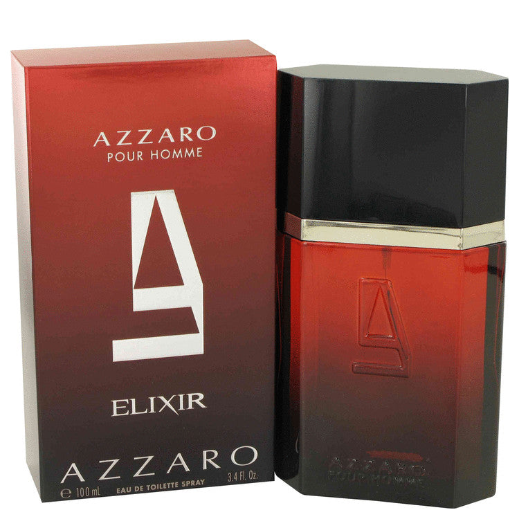 Azzaro Elixir for Men EDT Spray 3.4 oz