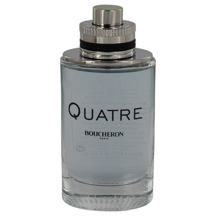 Quatre for Men by Boucheron EDT Spray 3.4 oz (Tester)