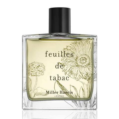 Feuilles de Tabac Unisex by Miller Harris EDP Spray 3.4 oz (Unboxed) - Discount Fragrance at Cosmic-Perfume