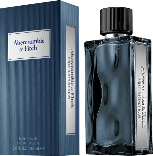 First Instinct Blue for Men by Abercrombie & Fitch EDT Spray 3.4 oz