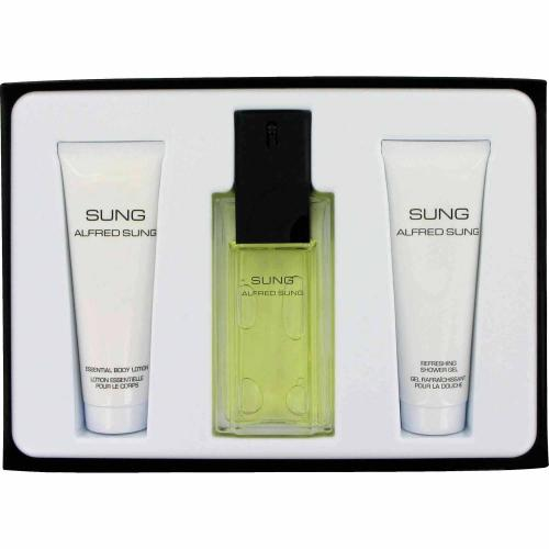 Alfred Sung for Women EDT + Lotion + Gel Gift Set