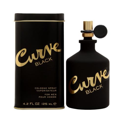 Curve Black for Men by Liz Claiborne EDT Spray 4.2 oz - Cosmic-Perfume