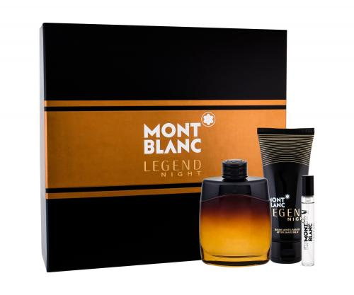 Mont Blanc Legend Night for Men 3 pcs Fragrance Set:
