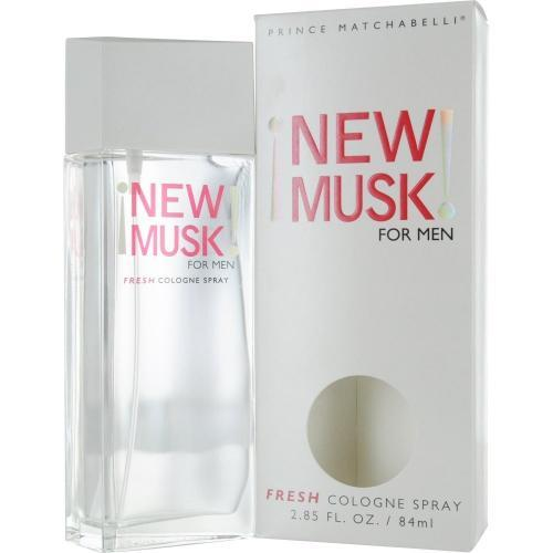 New Musk for Men by Prince Matchabelli Fresh Cologne Spray 2.85 oz