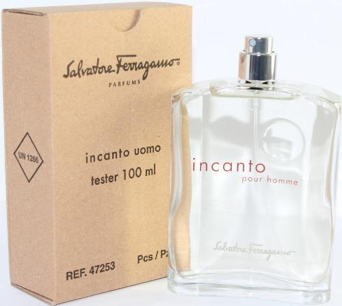 Incanto Uomo for Men by Salvatore Ferragamo EDT Spray 3.4 oz (Tester)