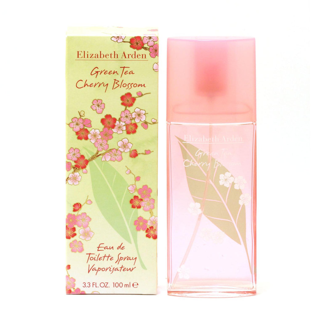 Green Tea Cherry Blossom for Women Elizabeth Arden EDT Spray 3.3 oz - Cosmic-Perfume