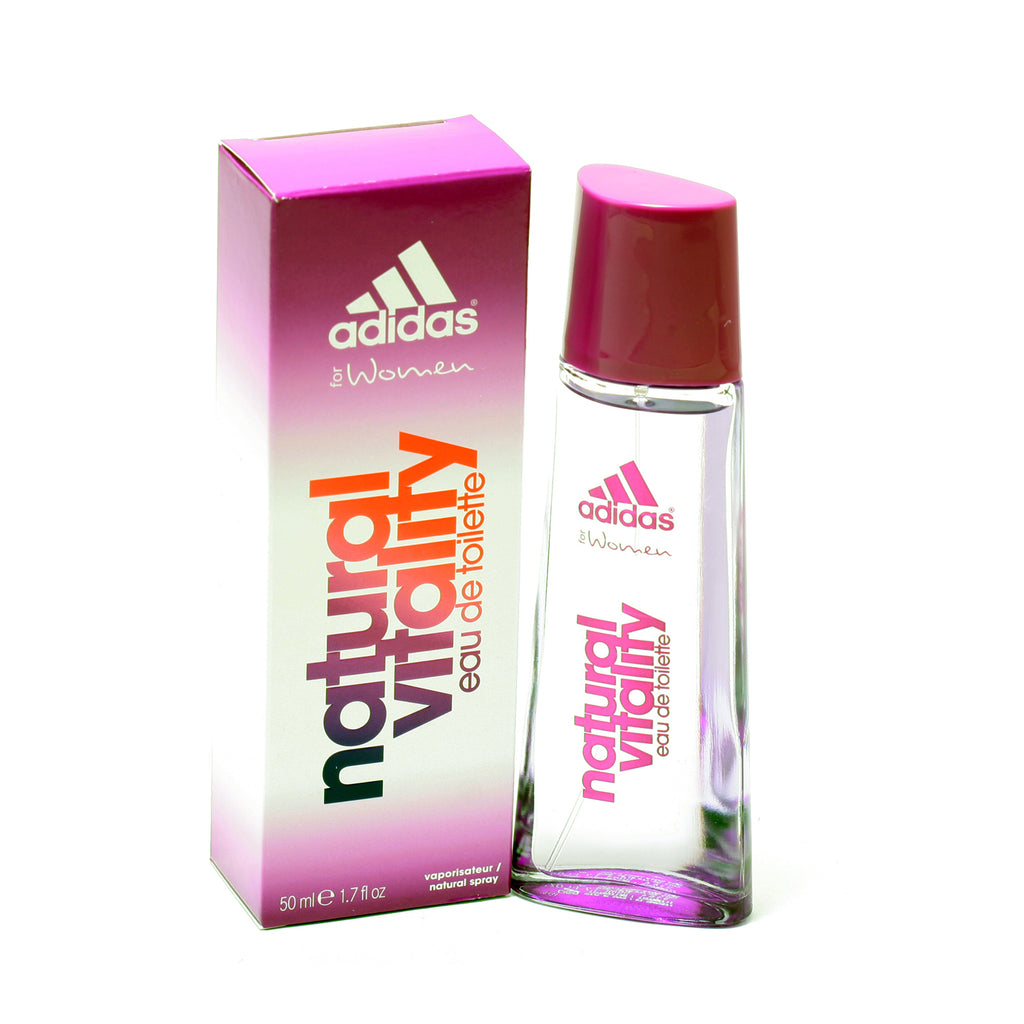 Adidas Natural Vitality for Women by Coty EDT Spray 1.7 oz