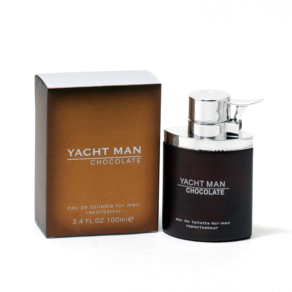 Yacht Man Chocolate for Men Edt Spray 3.4 oz