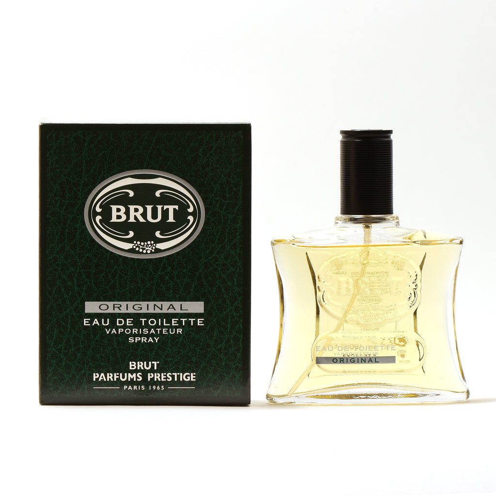 Brut For Men by Faberge EDT Spray 3.4 oz