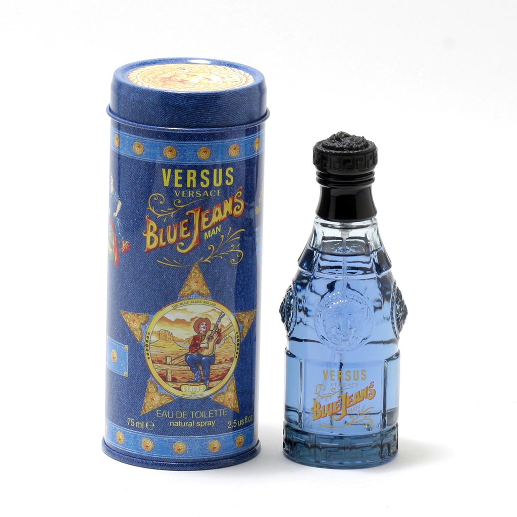Blue Jeans for Men by Versus Versace EDT Spray 2.5 oz - Cosmic-Perfume