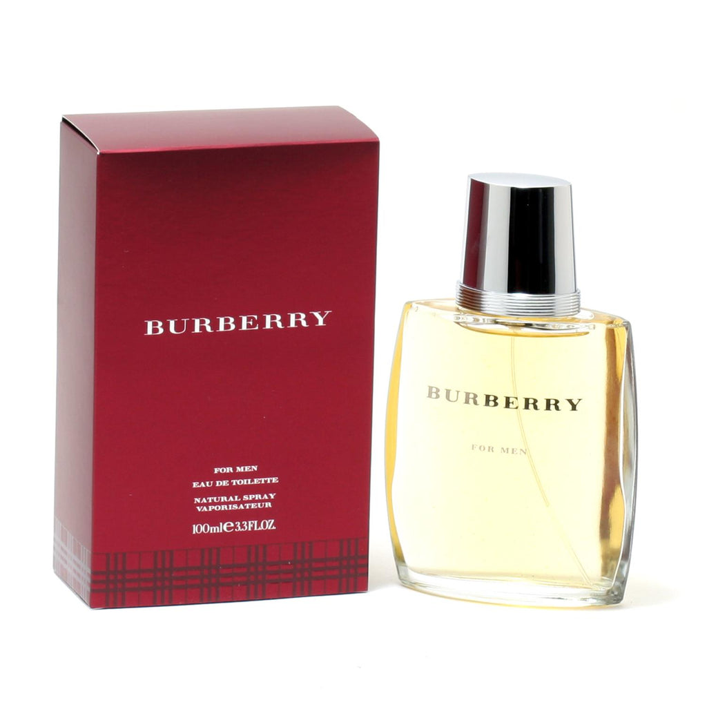 Burberry Classic for Men by Burberry EDT Spray 3.3 oz - Cosmic-Perfume