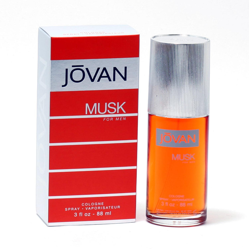 Jovan Musk for Men by Jovan Cologne Spray 3.0 oz - Cosmic-Perfume