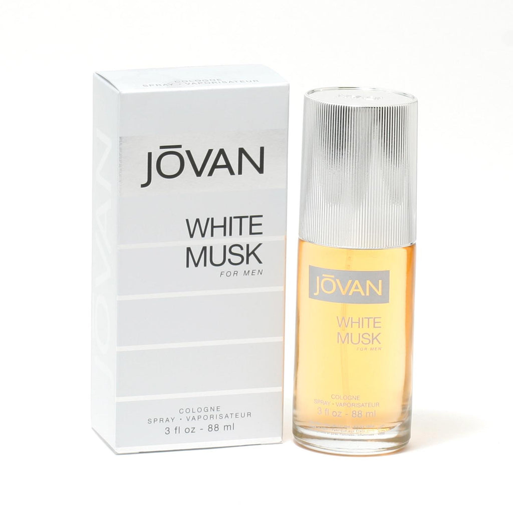 Jovan White Musk for Men by Coty Cologne Spray 3.0 oz - Cosmic-Perfume