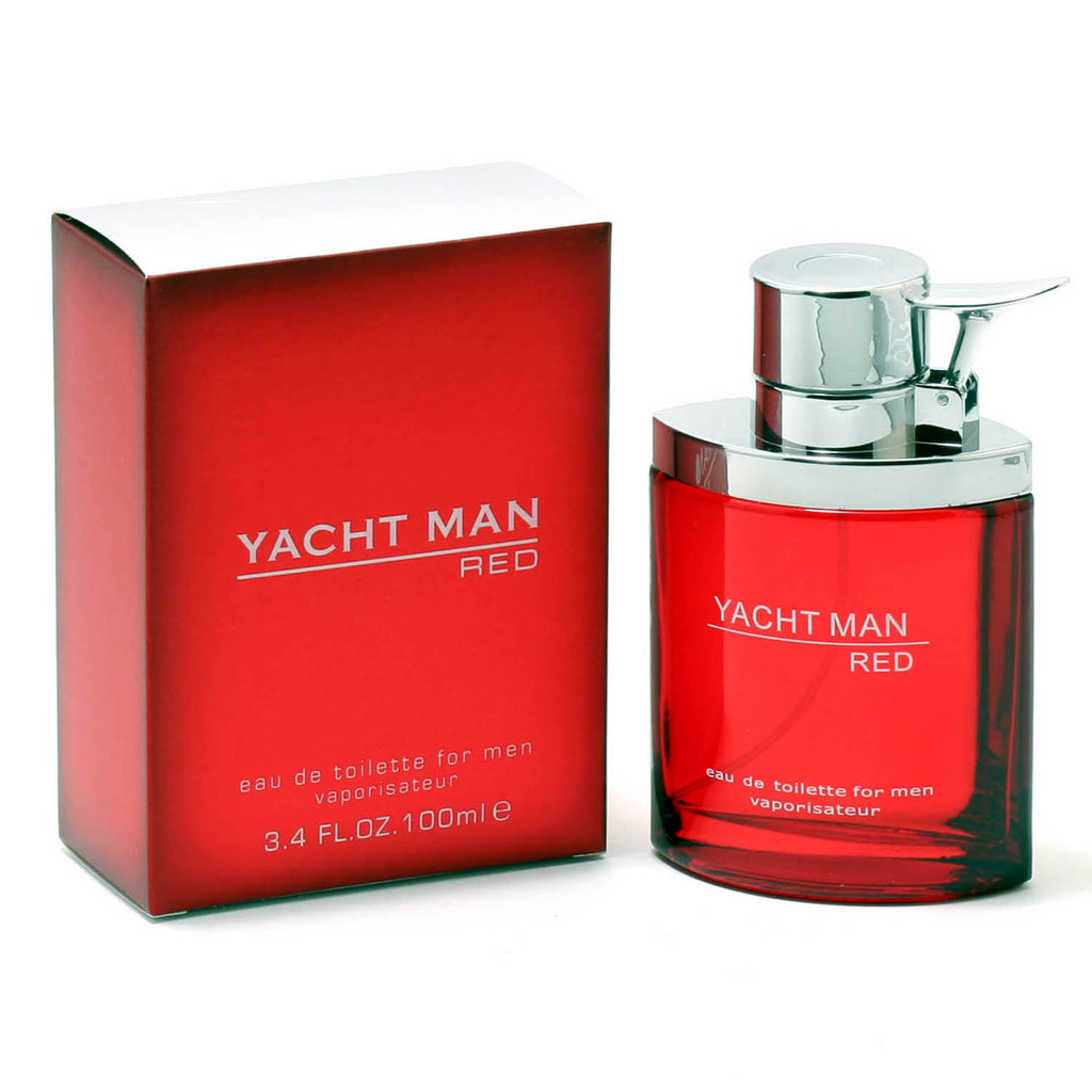 YACHT MAN RED for Men EDT Spray 3.4 oz