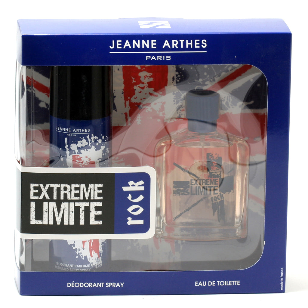 Jeanne Arthes Extreme Limite Rock for Men Fragrance 2 pc Set