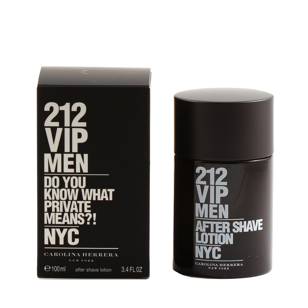 212 VIP for Men by Carolina Herrera After Shave Lotion 3.4 oz - Cosmic-Perfume