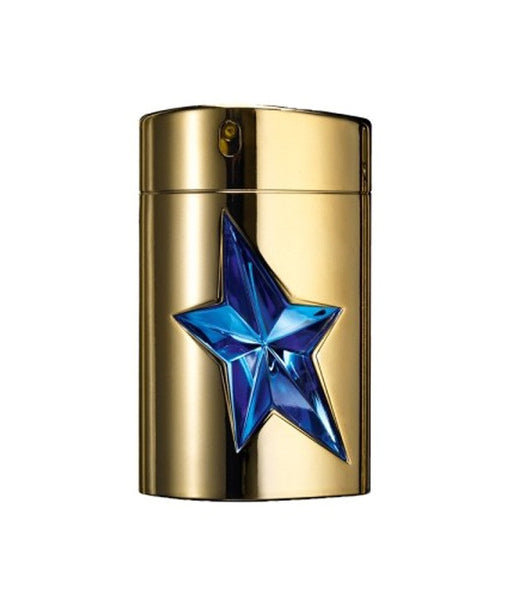 A * MEN Angel for Men by Thierry Mugler EDT GOLD EDITION Metal Spray 3.4 oz - Discount Fragrance at Cosmic-Perfume