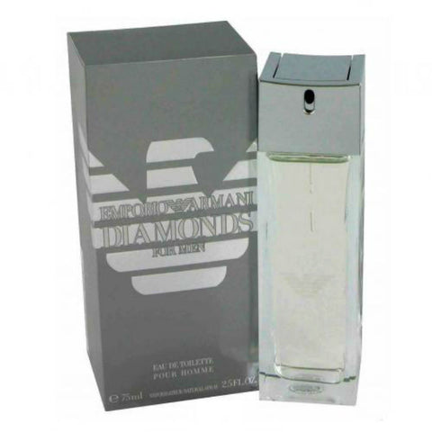 Emporio Armani Diamonds for Men by Giorgio Armani EDT Spray 2.5 oz - Cosmic-Perfume