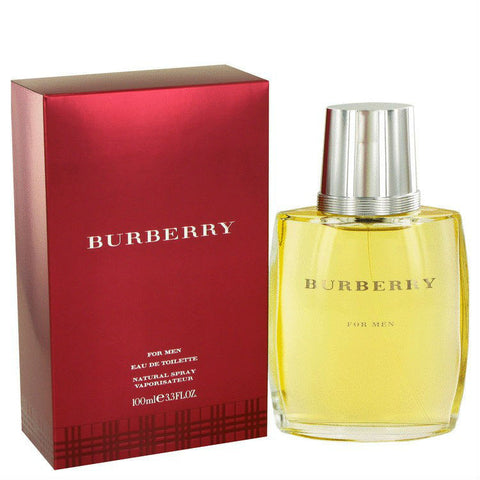 Burberry Classic for Men by Burberry EDT Spray 3.3 oz - Discount Fragrance at Cosmic-Perfume