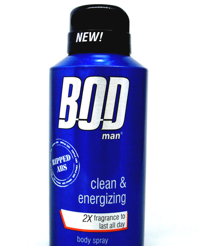 Bod Man Ripped Abs for Men Body Spray 4.0 oz - Discount Fragrance at Cosmic-Perfume