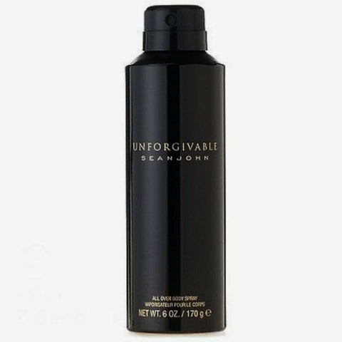 Unforgivable for Men by Sean John All Over Body Spray 6.0 oz