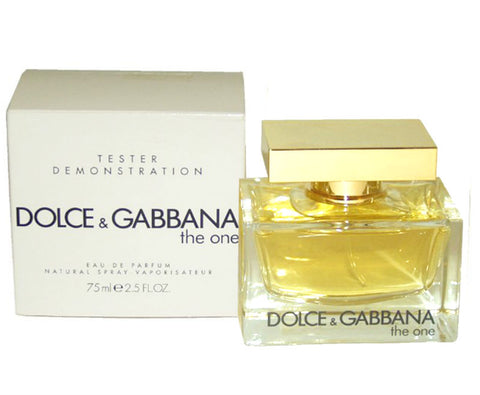The One for Women by Dolce & Gabbana Eau de Parfum Spray 2.5 oz (Tester) - Cosmic-Perfume