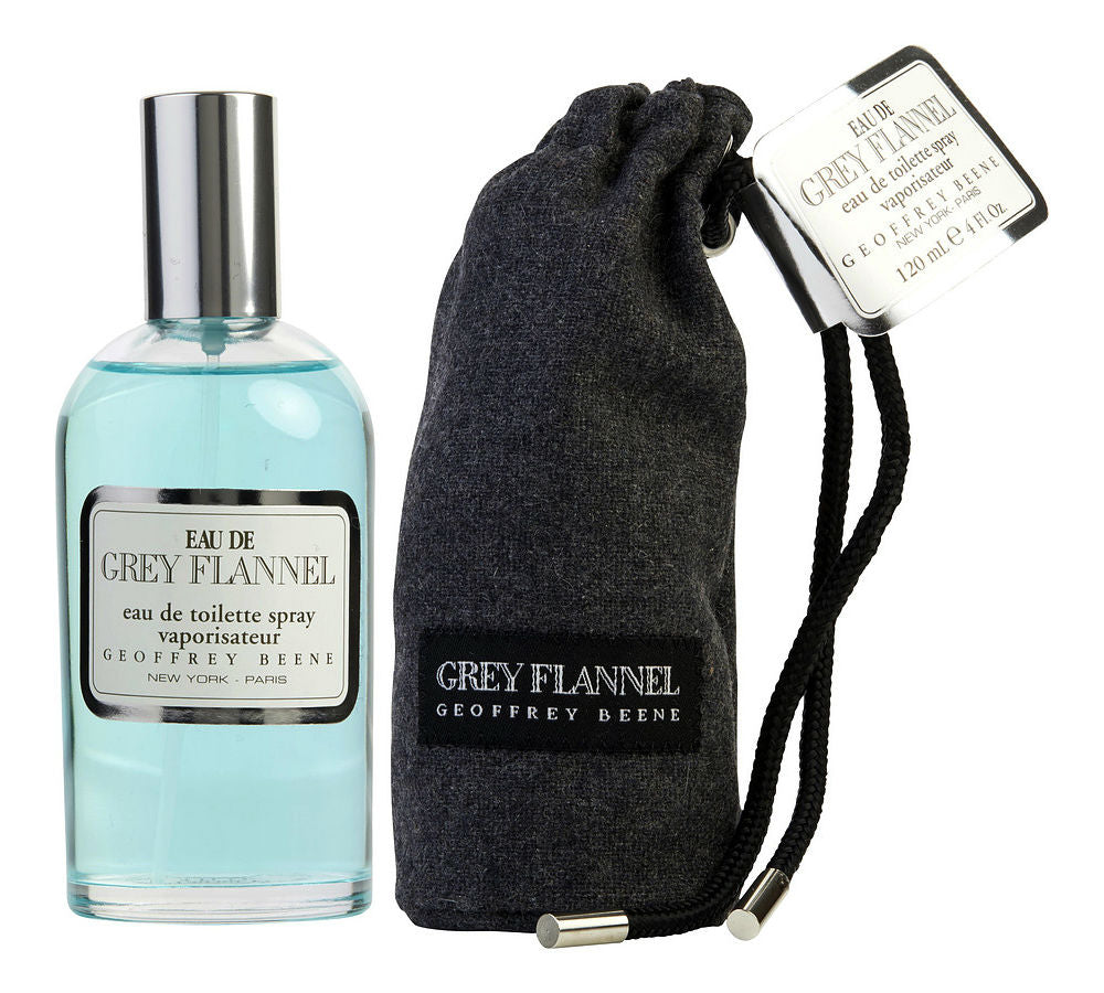 Eau de Grey Flannel for Men by Geoffrey Beene EDT Spray 4.0 oz