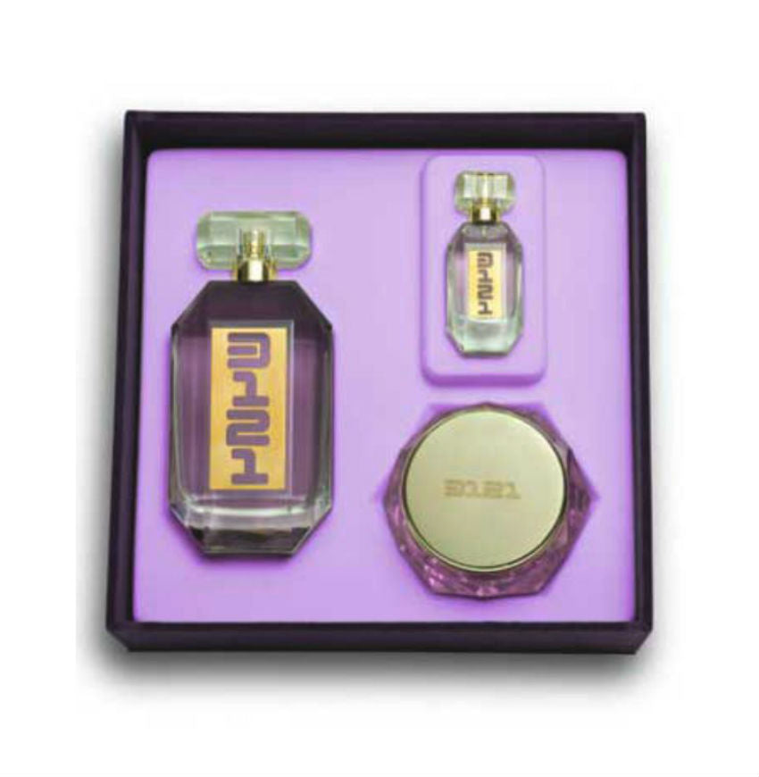 PRINCE 3121 by Revelations EDP Spray 3.4 oz + Mini Spray + Body Cream - Gift Set