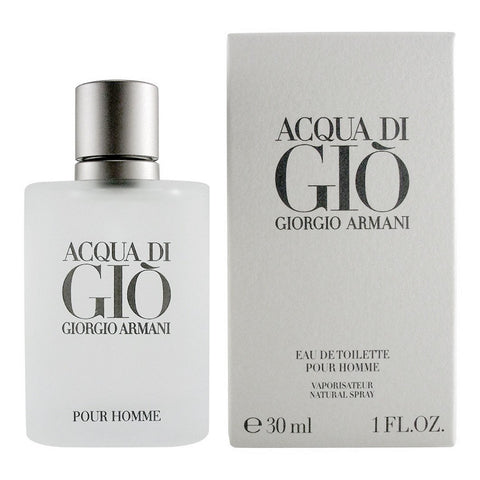 Acqua Di Gio for Men by Giorgio Armani EDT Spray 1.0 oz - Discount Fragrance at Cosmic-Perfume