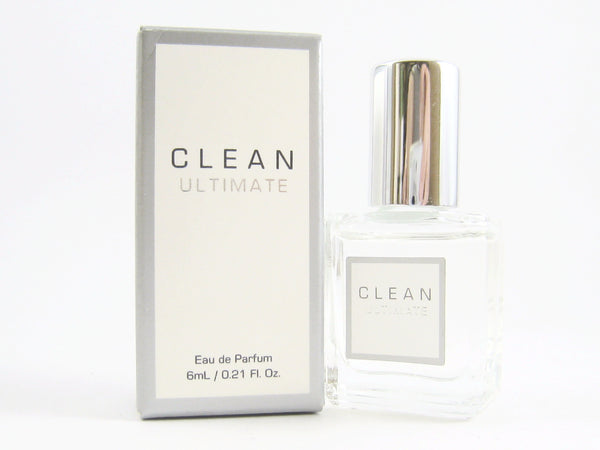 Clean Ultimate for Women EDP Splash Miniature 0.21 oz - Discount Fragrance at Cosmic-Perfume