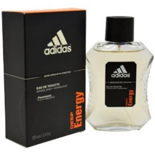 Adidas DEEP ENERGY for Men by Coty EDT Spray 3.4 oz (New in Box) - Discount Fragrance at Cosmic-Perfume