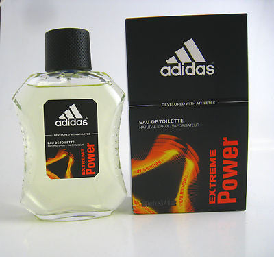 Adidas EXTREME POWER for Men by Coty EDT Spray 3.4 oz - Discount Fragrance at Cosmic-Perfume