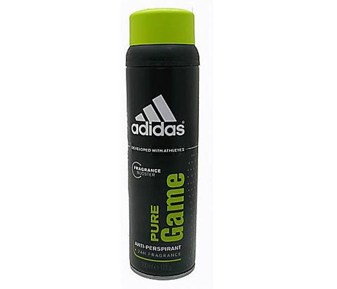 Adidas Pure Game for Men Anti-Perspirant Deodorant Spray 6.7 oz - Discount Bath & Body at Cosmic-Perfume