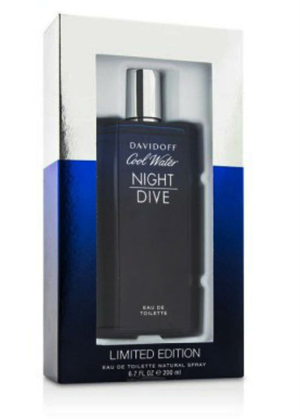 Cool Water Night Dive for Men by Davidoff EDT Spray 6.7 oz - Discount Fragrance at Cosmic-Perfume