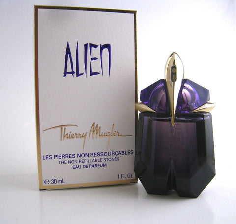 Alien for Women by Thierry Mugler EDP Spray (The Non-Refillable Stones) 1.0 oz - Discount Fragrance at Cosmic-Perfume