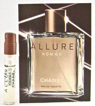 Allure Homme for Men by Chanel EDT Spray Vial 0.05 oz - Discount Fragrance at Cosmic-Perfume