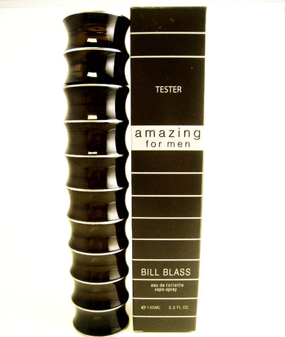 Amazing for Men by Bill Blass EDT Spray 3.3 oz (Tester) - Discount Fragrance at Cosmic-Perfume