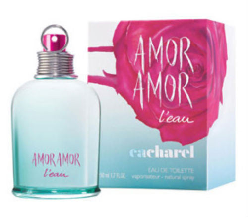 Amor Amor L'eau for Women by Cacharel 2014  EDT Spray 1.7 oz - Discount Fragrance at Cosmic-Perfume