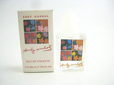 Andy Warhol for Women by Andy Warhol EDT Miniature Splash 0.17 oz (New in Box) - Cosmic-Perfume