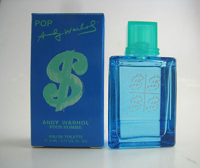 Andy Warhol POP for Men Andy Warhol EDT Miniature Splash 0.17 oz - Discount Fragrance at Cosmic-Perfume