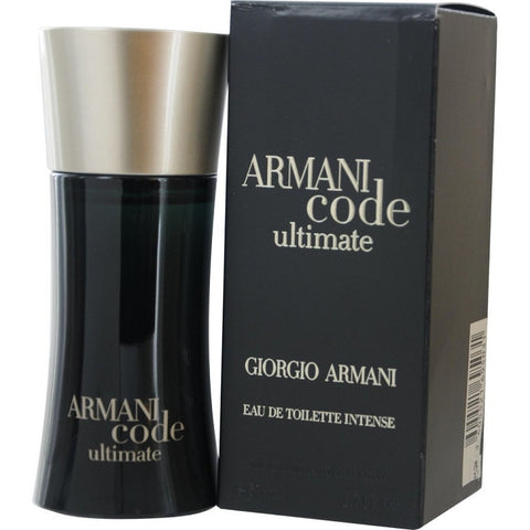 Armani Code Ultimate for Men by Giorgio Armani EDT Intense Spray 1.7 oz - Discount Fragrance at Cosmic-Perfume