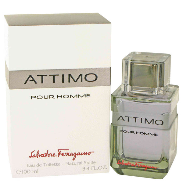 Attimo Pour Homme for Men by Salvatore Ferragamo EDT Spray 3.4 oz - Discount Fragrance at Cosmic-Perfume