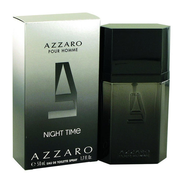 Azzaro Night Time for Men by Loris Azzaro EDT Spray 1.7 oz - Discount Fragrance at Cosmic-Perfume